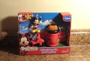 Disney Mickey Mouse Clubhouse Mickey's Pop-up Hot Dog Shop Playset Fisher Price
