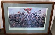 Rare Civil War Print Don Troiani Give Them Cold Steel Boys Signed/numbered