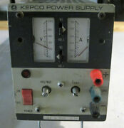 Kepco Series Jqe Power Supply 0-100 Volts Out Model Jqe 100-1m