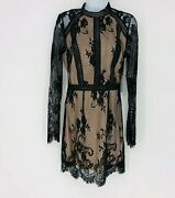 Ryse The Label Lace Overlay Party Dress New With Tags Size Small Cocktail Short