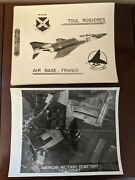 Toul Rosieres Air Base France Usaf 32nd And 26th Tac Tactical Fighter Squadron