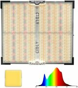 Cidly Led Grow Light Replace 600w Hps Grow Lamp Coverage 4x4 Sun Like Silver