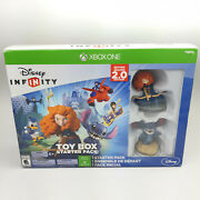 Disney Infinity Toy Box Starter Pack Xbox One New In Box