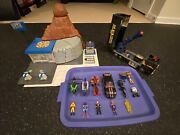 M.a.s.k Boulder Hill Lot Includes Figures, Vehicles And Extra Parts
