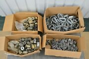 Large Lot Of Cable Rope Accessories Clamp Thimble Safe-line Clamp 347 Pieces