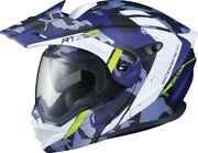 Scorpion Exo-at950 Outrigger Helmet Blue