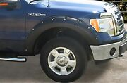 Stampede For 2009-2014 Ford F-150 Ruff Riderz Fender Flare 4-piece Smooth 8422-2