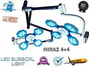 Miraz 4+4 Surgical Light Operation Theater Light Ot Fully Remote Controlled Lamp