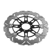 Tsuboss Front Brake Disc For Aprilia Caponord 1200 Travelpack Abs 16-17 Stx01d