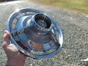 Used Chevrolet Hubcap 1960and039s Chevy Ss Impala Vintage Wheel Cover - Fair/good
