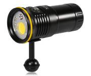 Diving Video Light 6000lumen Outdoor Handy Type With A Sliding Surface / Japan