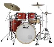 Pearl Masters Maple Complete 4-pc. Shell Pack Vermilion Sparkle Mct924xedp/c346
