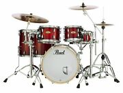 Pearl Session Studio Select Series 5-piece Shell Pack Antique Crimson Burst Sts9