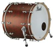 Pearl Music City Custom Reference Pure 26x14 Bass Drum W/o Bb3 Mount Red Onyx