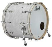 Pearl Music City Custom Reference Pure 26x14 Bass Drum W/o Bb3 Mount Matte Whi