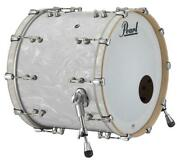 Pearl Music City Custom Reference Pure 26x14 Bass Drum W/o Bb3 Mount White Sat