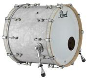 Pearl Music City Custom Reference Pure 26x14 Bass Drum W/o Bb3 Mount White Mar