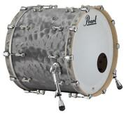 Pearl Music City Custom Reference Pure 26x14 Bass Drum W/o Bb3 Mount Satin Gre