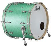 Pearl Music City Custom Reference Pure 26x14 Bass Drum W/o Bb3 Mount Turquoise