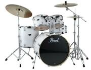 Pearl Export 5-pc. Drum Set W/830-series Hardware Pack Pure White Exx725s/c33