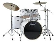 Pearl Export 5-pc. Drum Set W/830-series Hardware Pack Pure White Exx725/c33