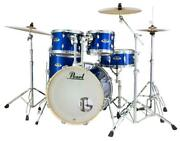 Pearl Export 5-pc. Drum Set W/830-series Hardware Pack High Voltage Blue Exx725/