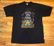 Vintage 90s Disney Tower Of Terror Its A Snap T-shirt Twilight Zone Mens Size Xl