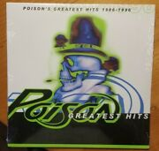 Poison●greatest Hits 1986-96●capitol●lp●colored Vinyl●sealed●super Hard To Find