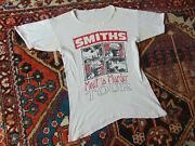 Vtg 1985 The Smiths Meat Is Murder Double-sided Uk Tour Shirt