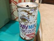 Playmate Beer Can With The Zing Of Malt Liquor - Rare
