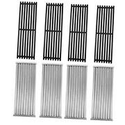 4 Pack Grill Grate And Emitter Replacement Parts For Char-broil 4-pack