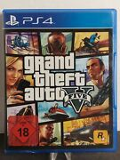 Ps4 Sony Playstation 4 Game Grand Theft Auto V Gta 5 German Boxed