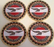 Zenith Wire Wheels Of California 4 Chips Emblems Gold Multi Color Size 2.25andrdquo