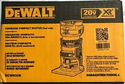Dewalt Dcw600b 20 Volt Xr Brushless Cordless Compact Router New In Box