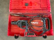 Hilti Te1000-avr Demolition Breaker Hammer With Case And Two Bits