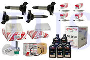 Tune Up Kit Fits 2008 Scion Xd 1.8l Ignition Coil 90919-02258 Uf596 Sae5w20 5w30