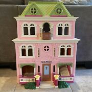 Fisher Price Loving Family Grand Mansion Dollhouse With Accessories And Family