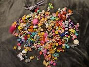 Mix Lot Of 160 Plus Mls, Mini Lalaloopsy, Monster H And More Animals Figures
