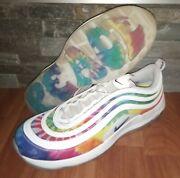 Nike Air Max 97 Golf And039tie Dyeand039 Size 14 Shoes Ck1219-100 Worn Once