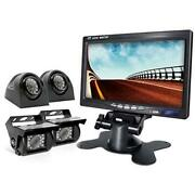 Backup Camera 2.0 With Monitor For Rv Truck Trailer Box Tractor 5th Wheel
