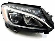 Right Headlight Assembly 5dsb49 For C300 C350e C400 C43 Amg C450 C63 S 2015 2016