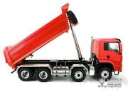 1/14 Scale 88 Painted Rc Lesu Dumper Truck Front Hydraulic Lifting Man Light