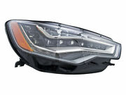 Right Headlight Assembly Hella 7stf66 For Audi A6 Quattro 2013 2012