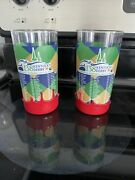 Makers Mark Red Wax Dipped Kentucky Derby Festival Glasses 138th 2012 Glasses