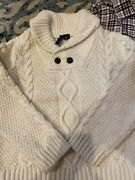 Euc Janie And Jack Sweater, Button Down, Sock And Old Navy Cord Set, 2t