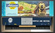 Ho Athearn Freight 86and039 Hi-cube 4/d Auto Parts Box Car Kit Norfolk And Western Nandw
