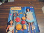 Pocahontas Wilderness Dress And Play Set For Barbie Sized Doll