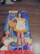 Pocahontas Earth Dance Outfit Set In Tan For Barbie Sized Doll