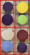 8 Vintage Tupperware Bowls And Lids Impressions Classic Sheerly Elegant Nesting