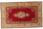 Genuine 9and03911 X 15and0399 Semi-antique Per/sian Ker-man   Mint Condition Area Rug...